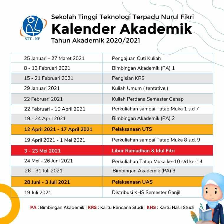 Kalender Akdemik 2020-2021