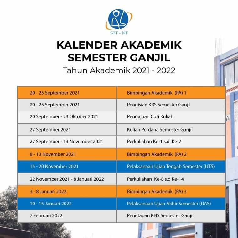 Kalender Akdemik 2021 2022